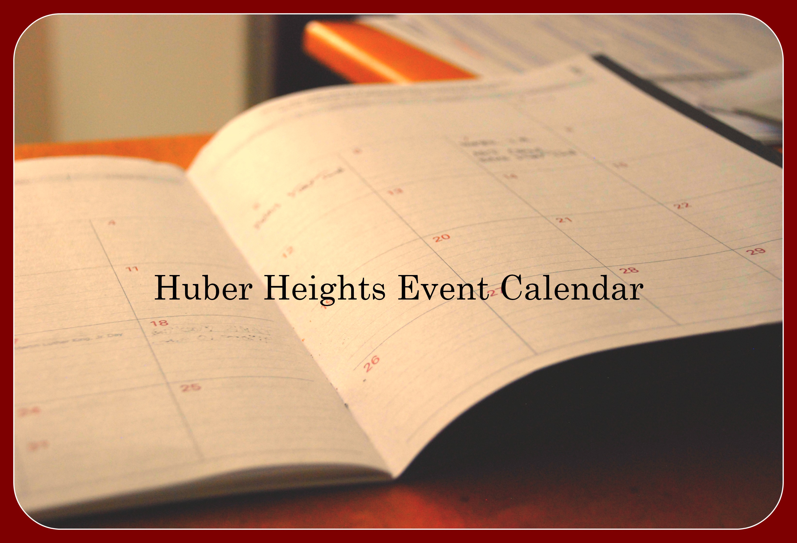 Huber Heights Event Calendar