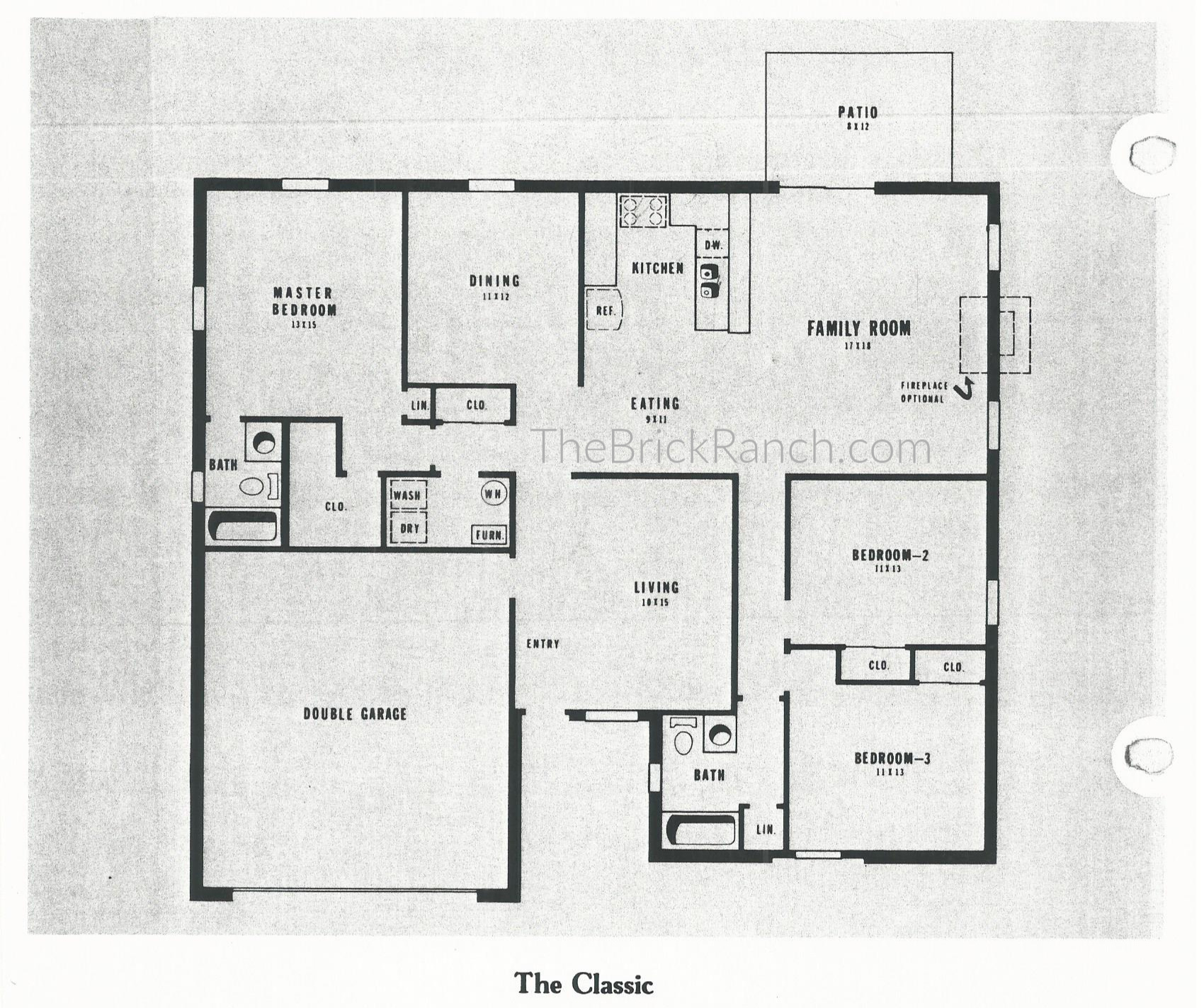 Huber Home Floor Plans: The Classic