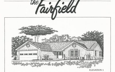 Huber Homes Floor Plans: The Fairfield