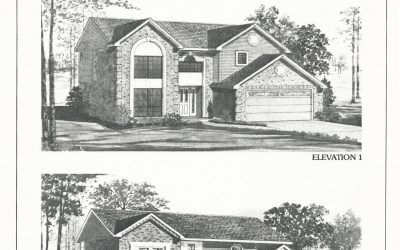 Huber Homes Floor Plans: The Fairmont