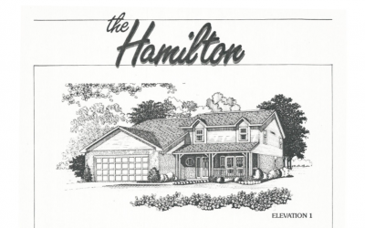 Huber Homes Floor Plans: The Hamilton