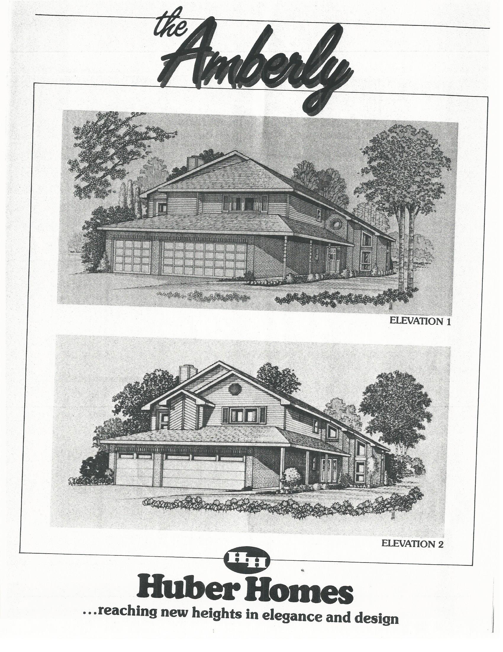 Huber Homes Amberly model