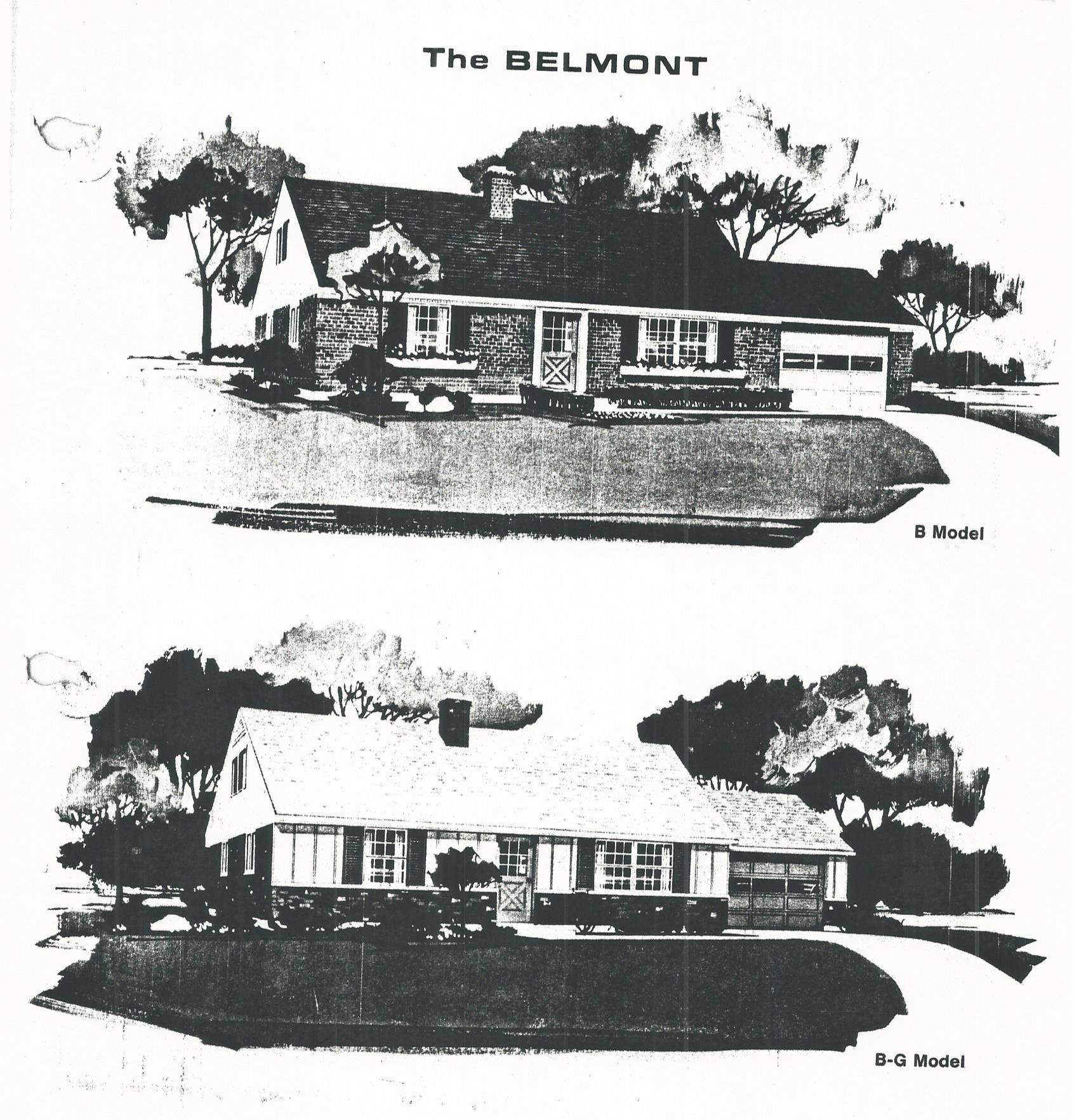 Huber Home models Belmont