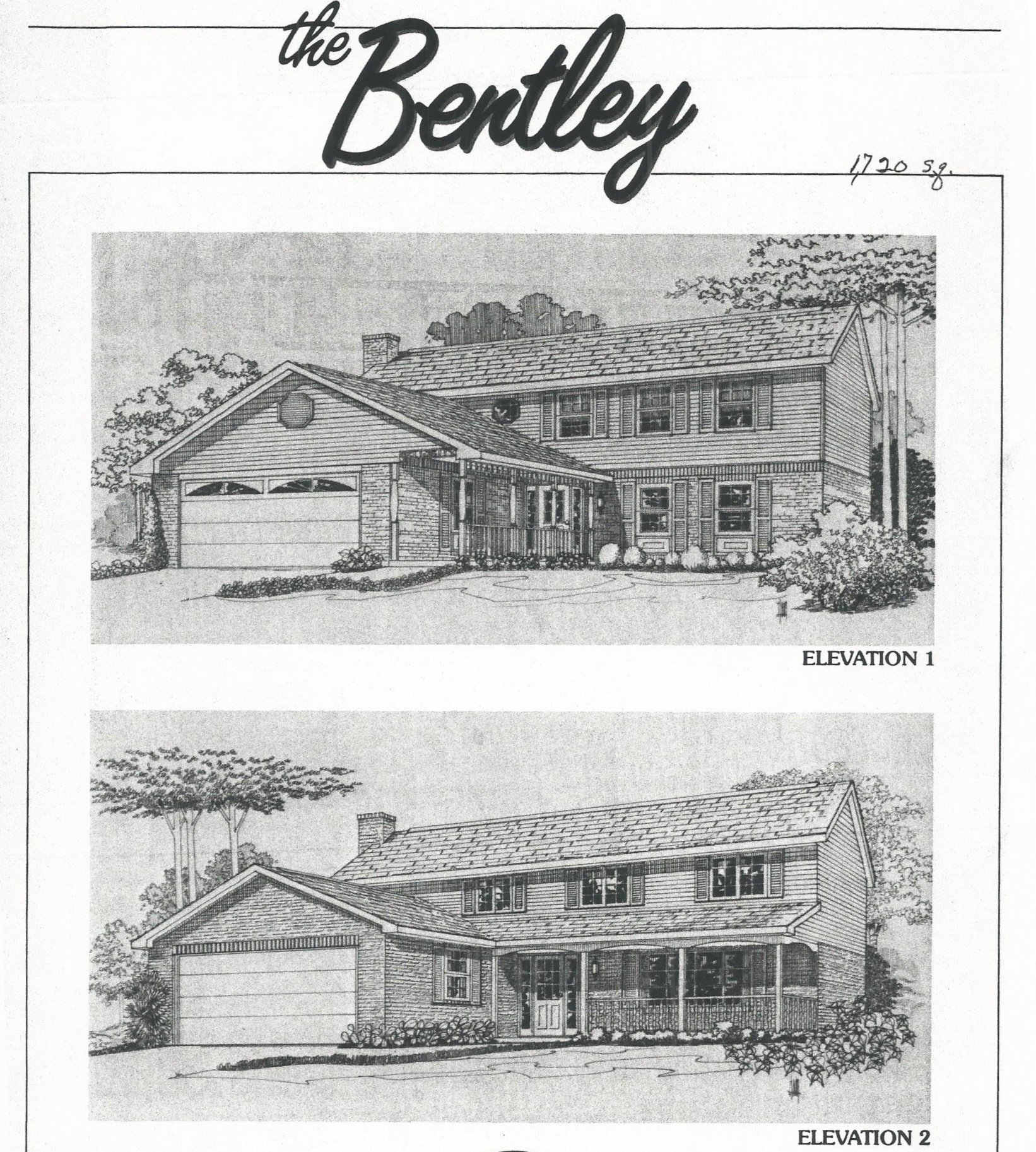 Huber Home models: The Bentley