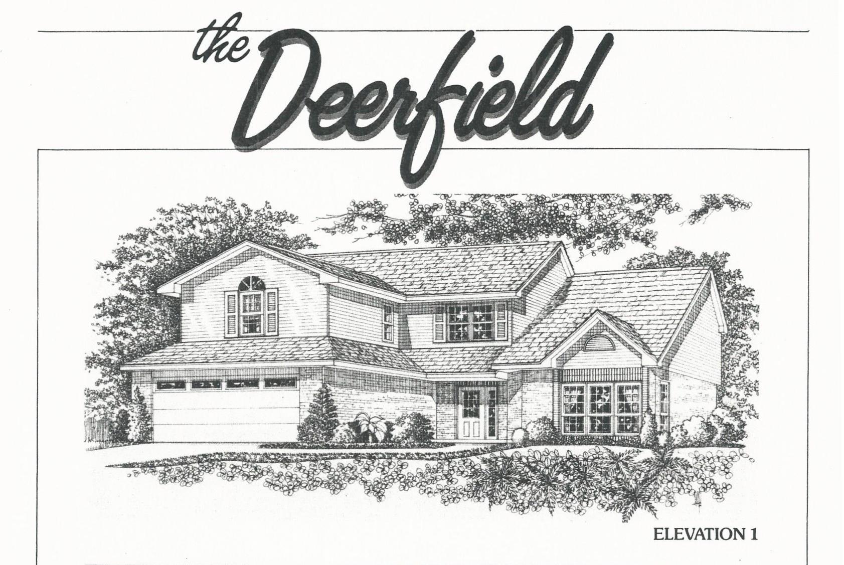 Huber Home Floor Plans: The Deerfield