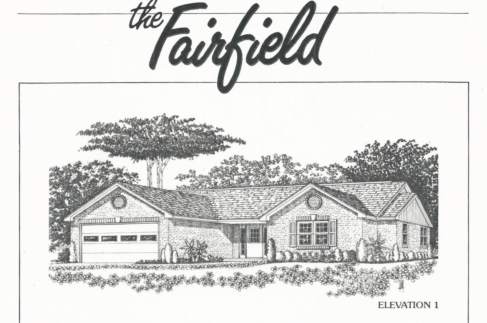 Huber Homes Floor Plans: The Fairfield