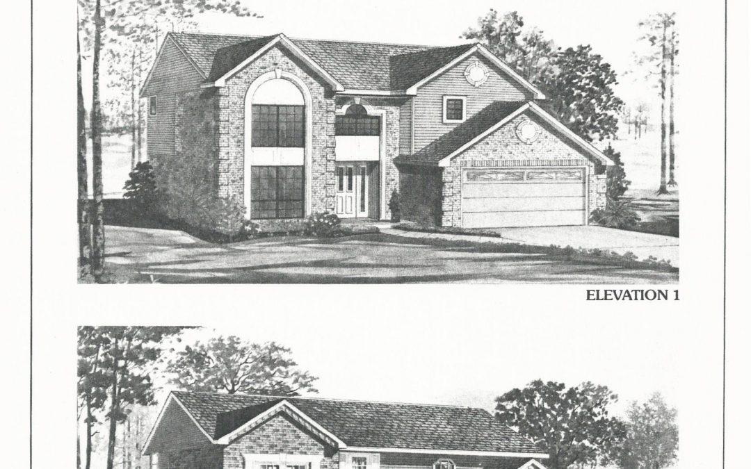 Huber Homes Floor Plans: The Fairmont