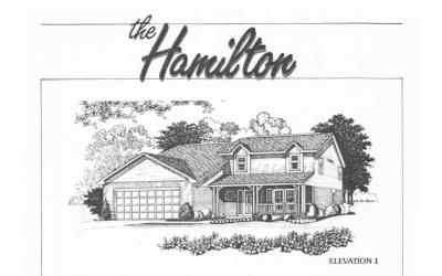 Huber Homes Floor Plans: The Hamilton